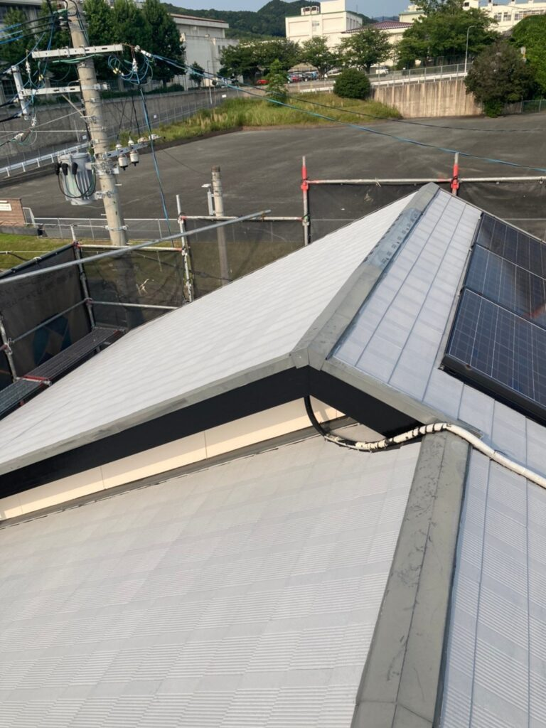 福岡市東区 屋根塗装(下塗り) 付帯塗装 写真6
