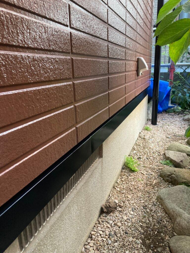 福岡市東区 ベランダ防水塗装 付帯塗装 写真11