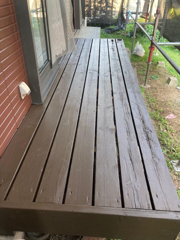 福岡市東区 各所塗装 タッチアップ 写真11