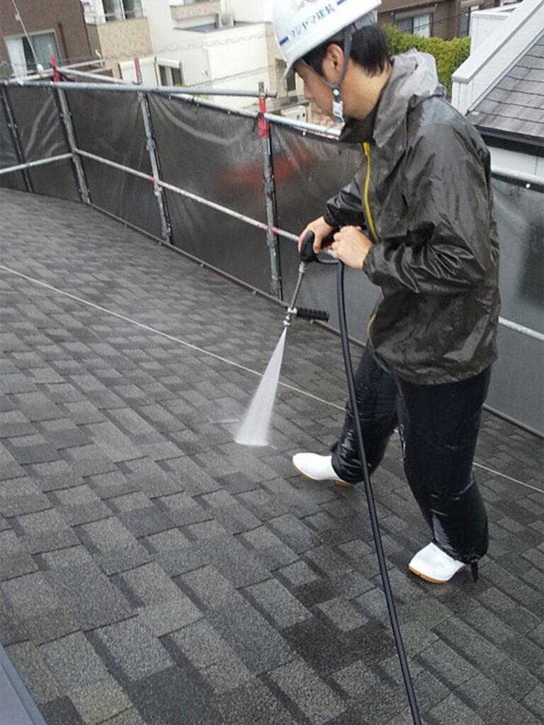 太宰府市 高圧洗浄 写真1