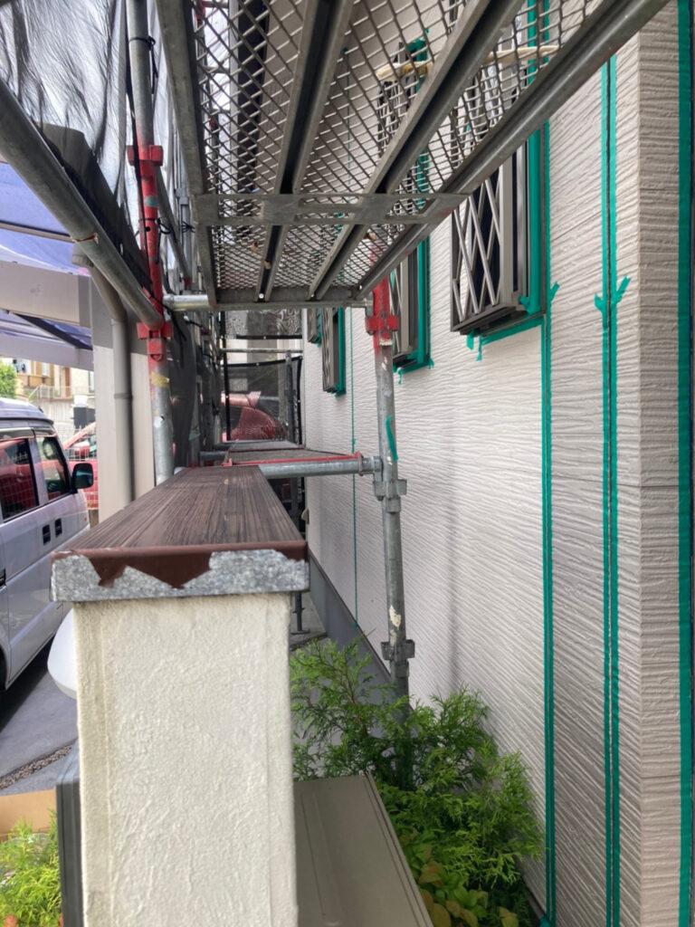 太宰府市 マスキングテープ養生 写真8