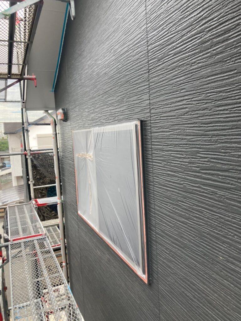 太宰府市 外壁塗装(中塗り) 写真5