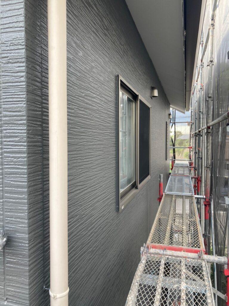 太宰府市 外壁塗装(上塗り) 写真10
