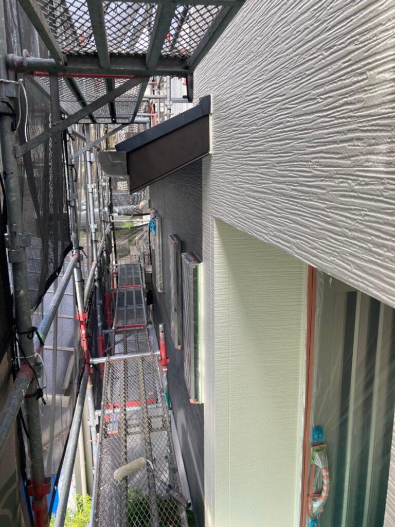 太宰府市 外壁塗装(上塗り) 写真11