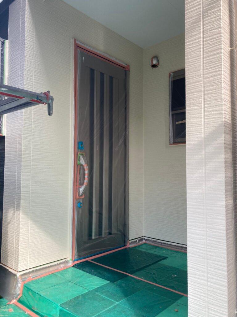 太宰府市 外壁塗装(上塗り) 写真12