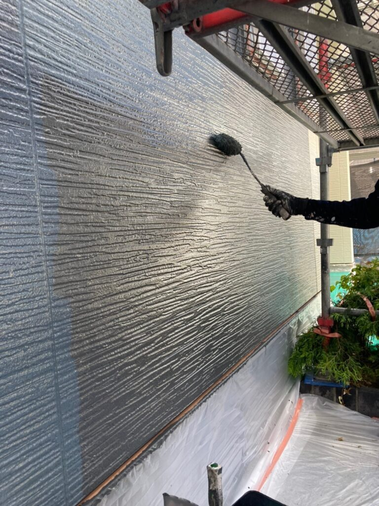 太宰府市 外壁塗装(上塗り) 写真3