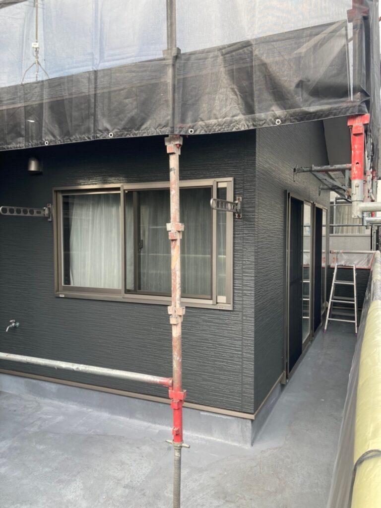 太宰府市 外壁塗装(上塗り) 写真9
