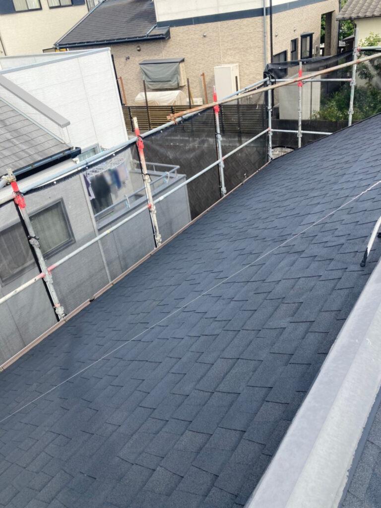 太宰府市 屋根塗装(下塗り) 写真5