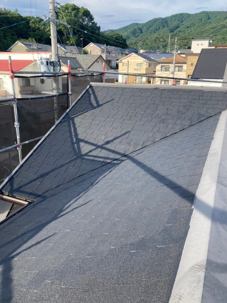 太宰府市 屋根塗装(下塗り) 写真7