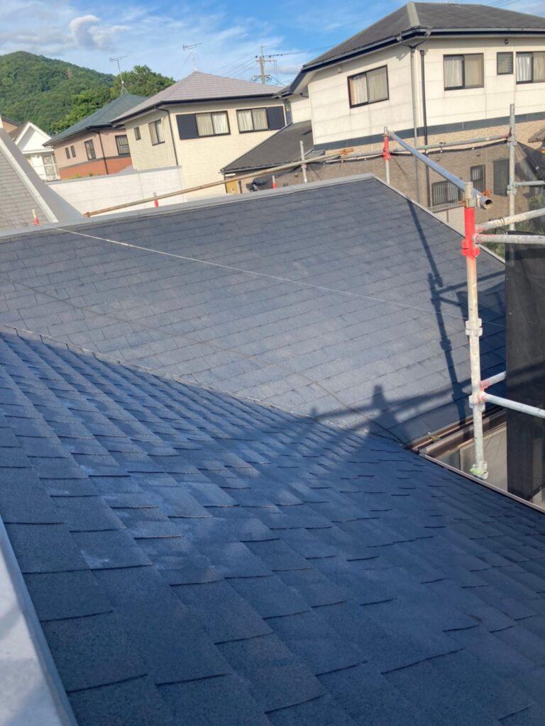 太宰府市 屋根塗装(下塗り) 写真8
