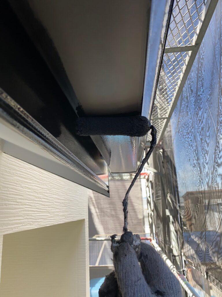 太宰府市 屋根塗装(中塗り) 付帯塗装① 写真11
