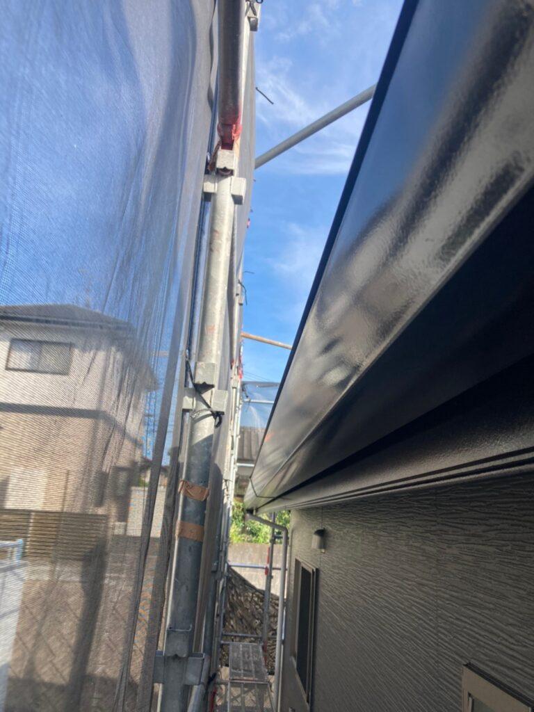 太宰府市 屋根塗装(中塗り) 付帯塗装① 写真16