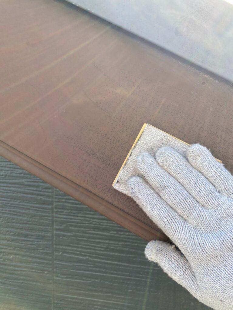 太宰府市 屋根塗装(中塗り) 付帯塗装① 写真5