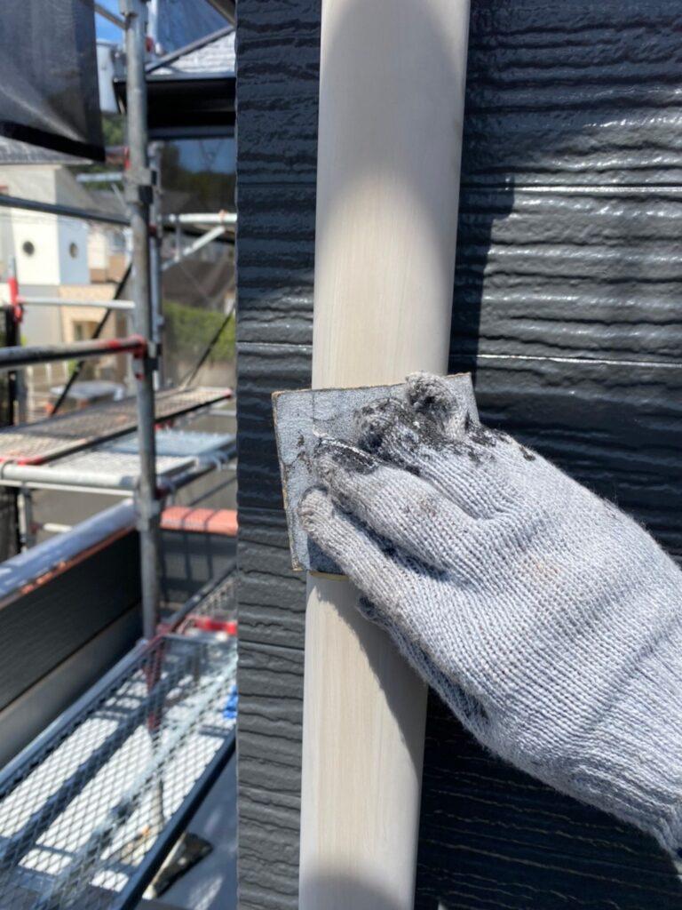 太宰府市 屋根塗装(中塗り) 付帯塗装① 写真7