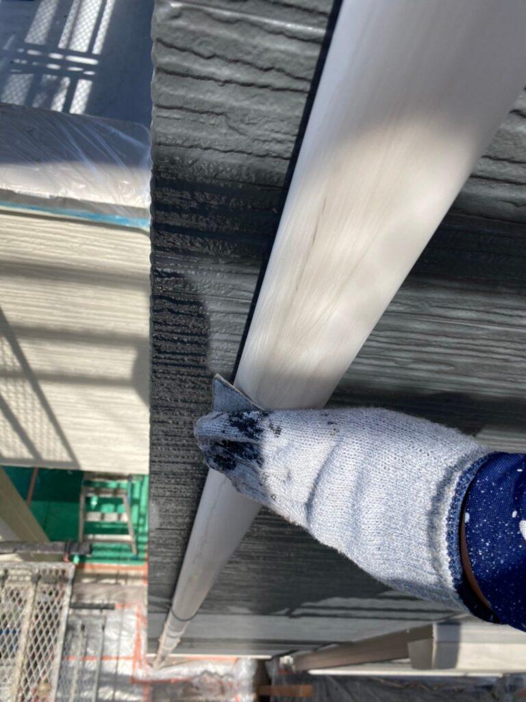 太宰府市 屋根塗装(中塗り) 付帯塗装① 写真8