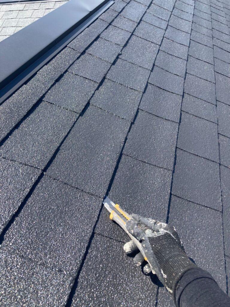 太宰府市 付帯塗装② 屋根縁切り 写真17