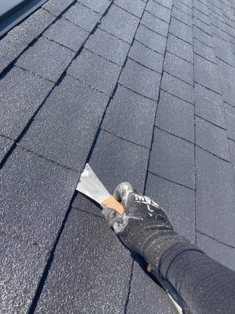 太宰府市 付帯塗装② 屋根縁切り 写真18