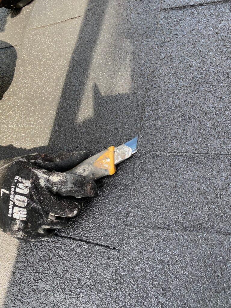 太宰府市 付帯塗装② 屋根縁切り 写真19