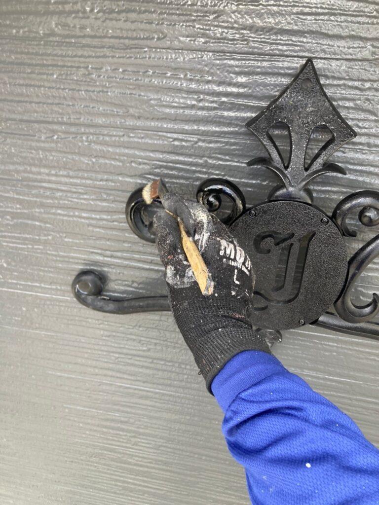 太宰府市 付帯塗装② 屋根縁切り 写真3