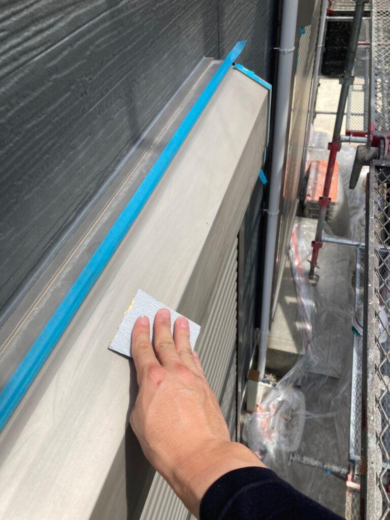 太宰府市 付帯塗装② 屋根縁切り 写真5