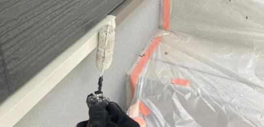 太宰府市 付帯塗装② 屋根縁切り