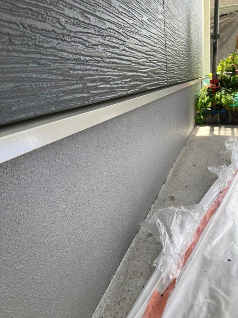 太宰府市 基礎巾木塗装(下塗り) など 写真4