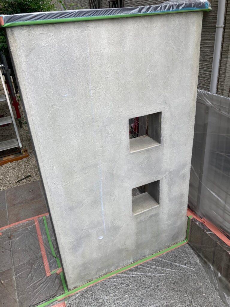 太宰府市 基礎巾木塗装(下塗り) など 写真8