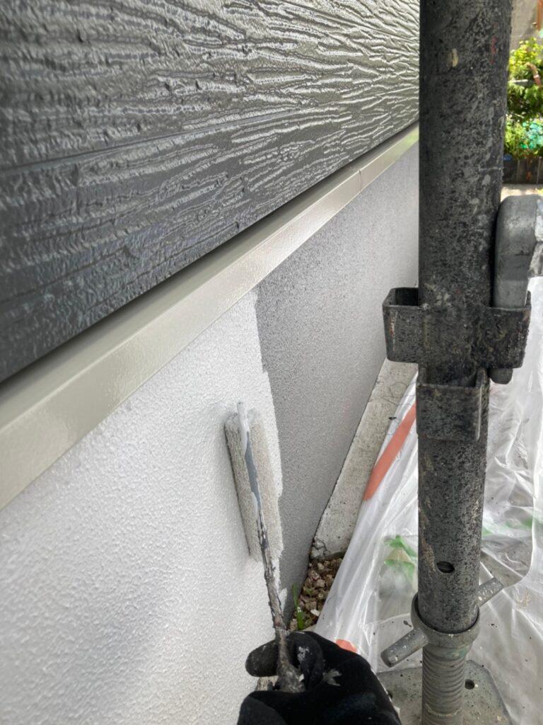 太宰府市 基礎巾木塗装(上塗り) など 写真4
