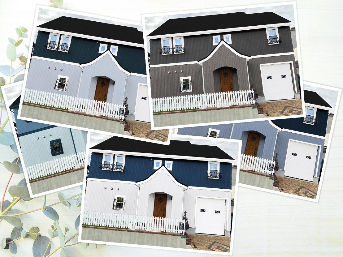 フジヤマ建装のカラーシミュレーション イメージ