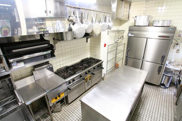 光触媒が導入されている身近な施設:厨房