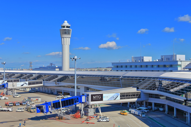 光触媒が導入されている有名施設:中部国際空港 セントレア