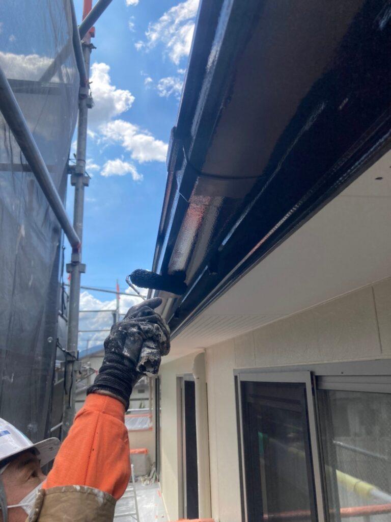 小郡市 屋根塗装(下塗り) 付帯塗装 写真11