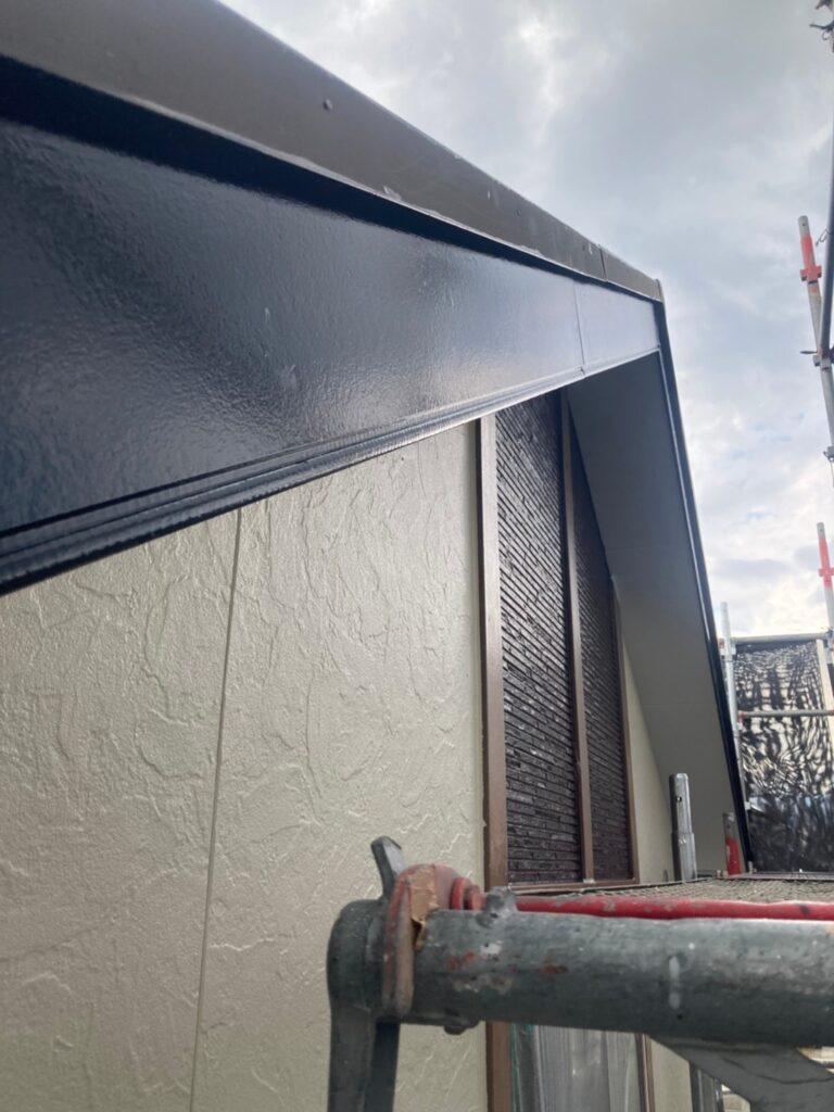 小郡市 屋根塗装(下塗り) 付帯塗装 写真13
