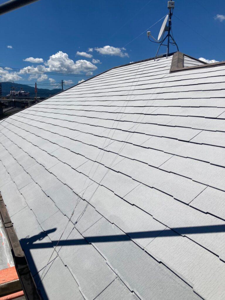 小郡市 屋根塗装(下塗り) 付帯塗装 写真5
