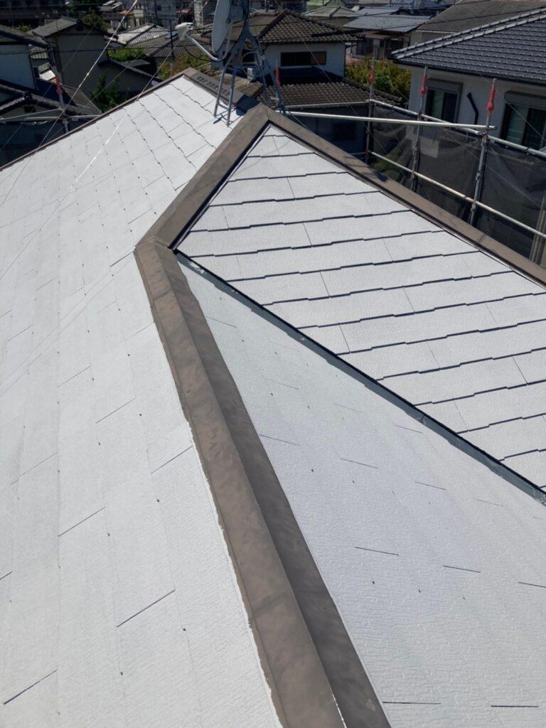 小郡市 屋根塗装(下塗り) 付帯塗装 写真6