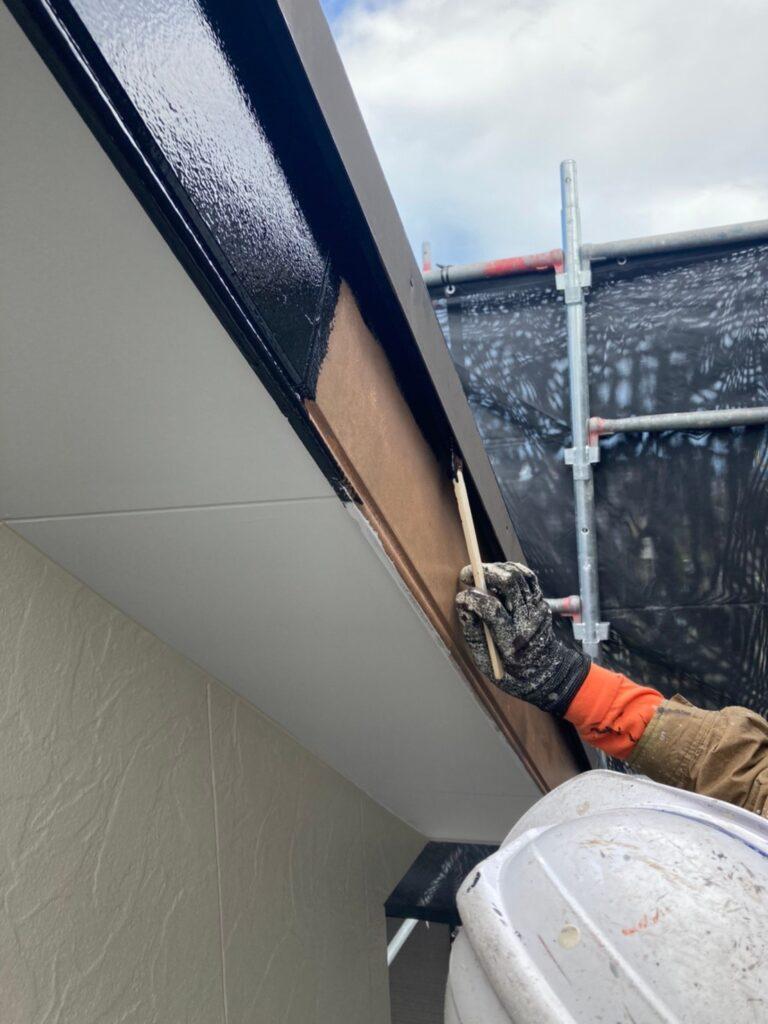 小郡市 屋根塗装(下塗り) 付帯塗装 写真9