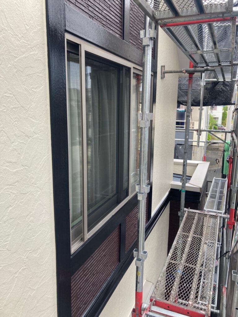 小郡市 屋根塗装(中塗り) 付帯塗装 写真12