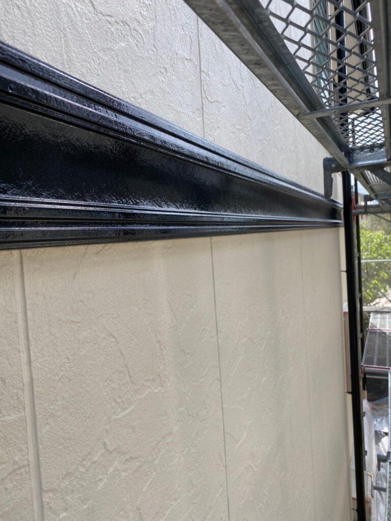 小郡市 屋根塗装(中塗り) 付帯塗装 写真14