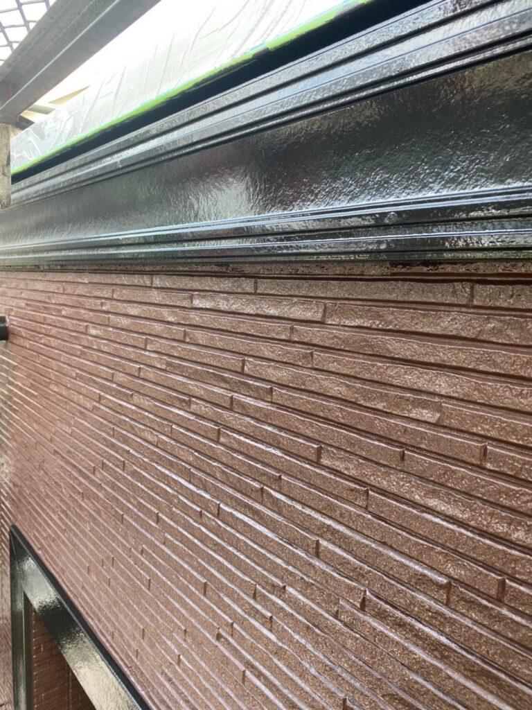 小郡市 屋根塗装(中塗り) 付帯塗装 写真15