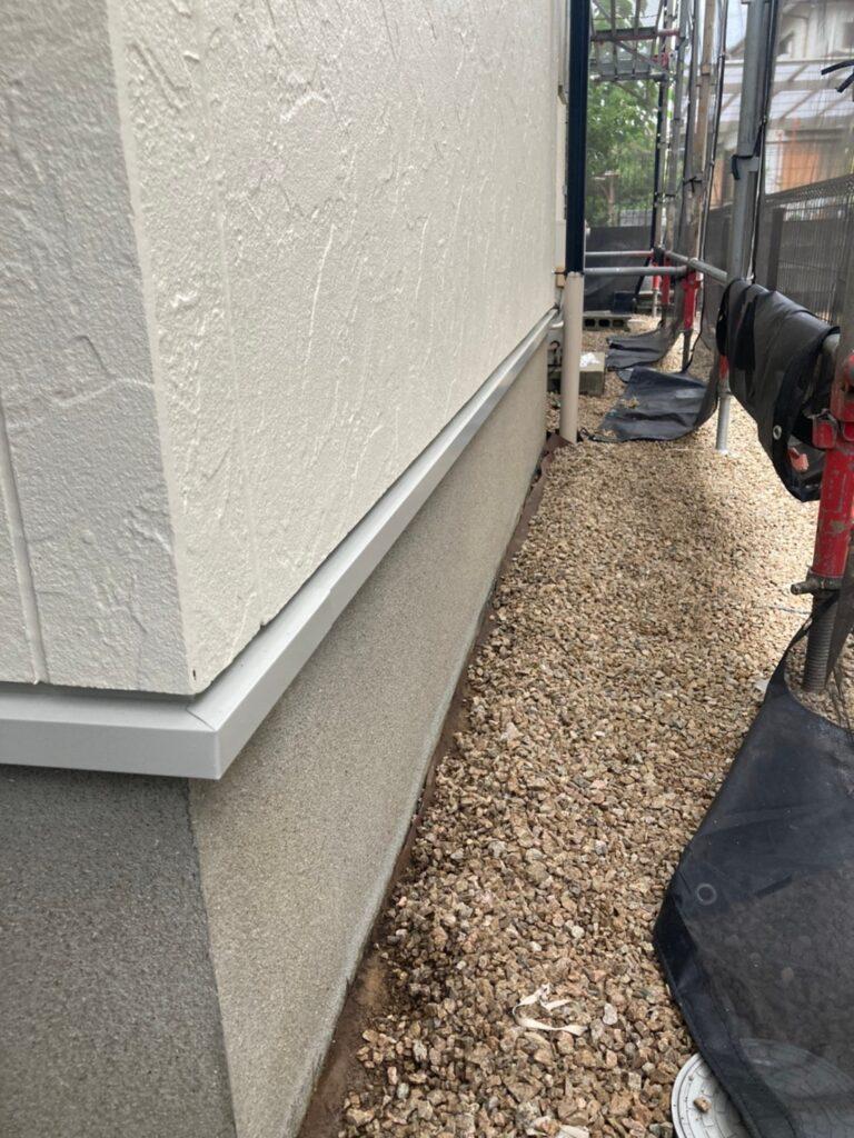 小郡市 付帯塗装③ 折半屋根錆止め塗装 写真10
