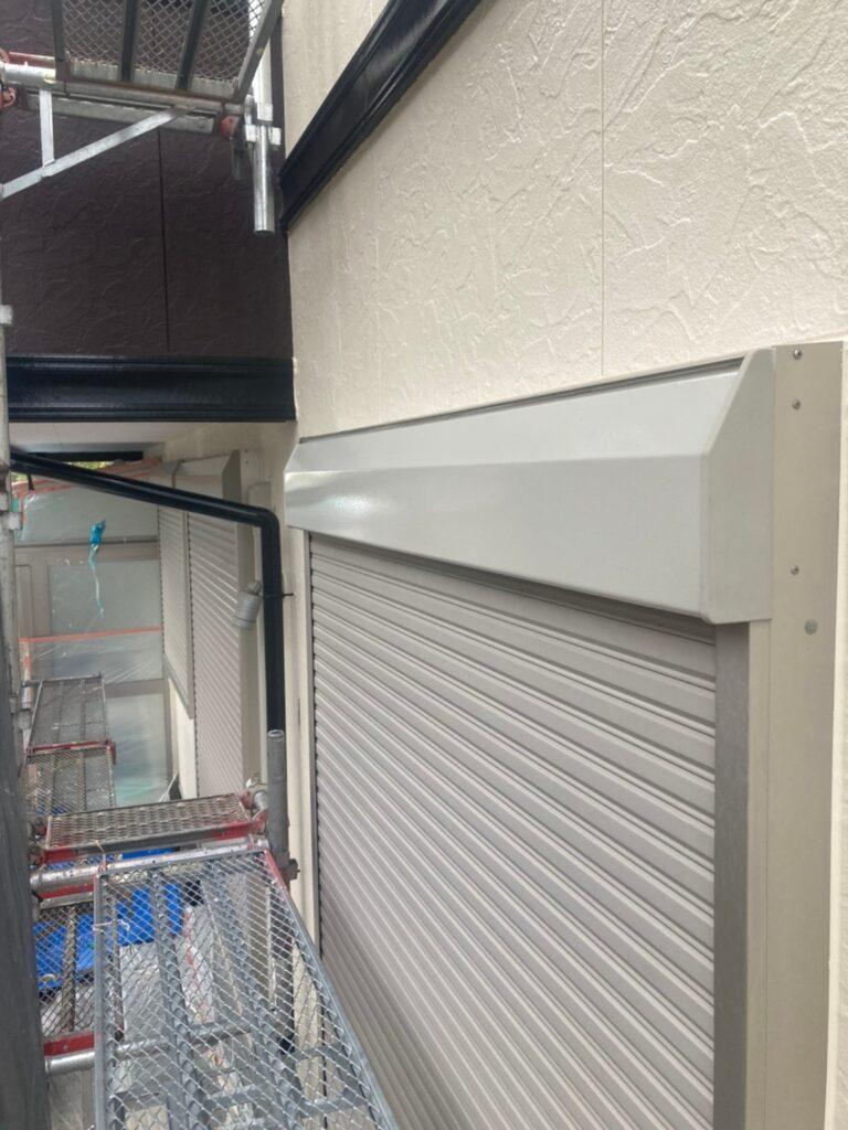 小郡市 付帯塗装③ 折半屋根錆止め塗装 写真3