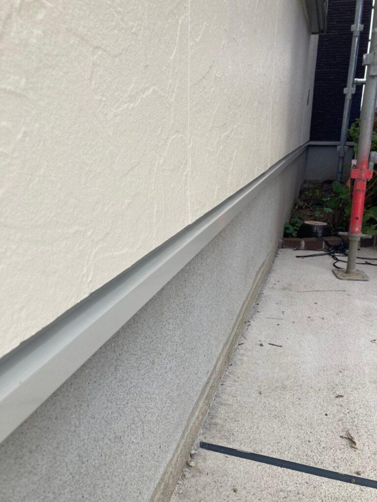 小郡市 付帯塗装③ 折半屋根錆止め塗装 写真9