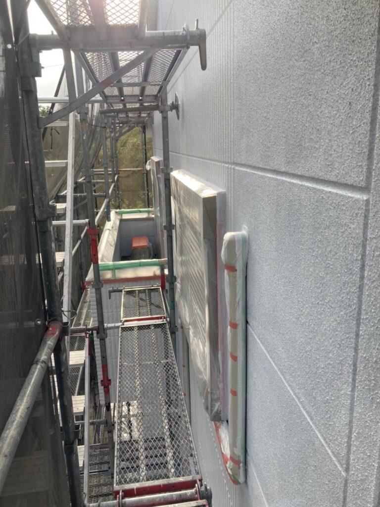 三養基郡 外壁塗装(下塗り) 写真11