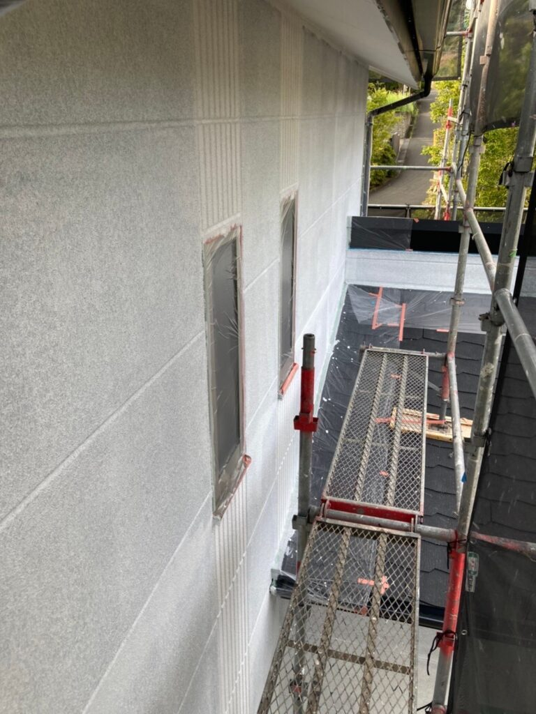 三養基郡 外壁塗装(下塗り) 写真12