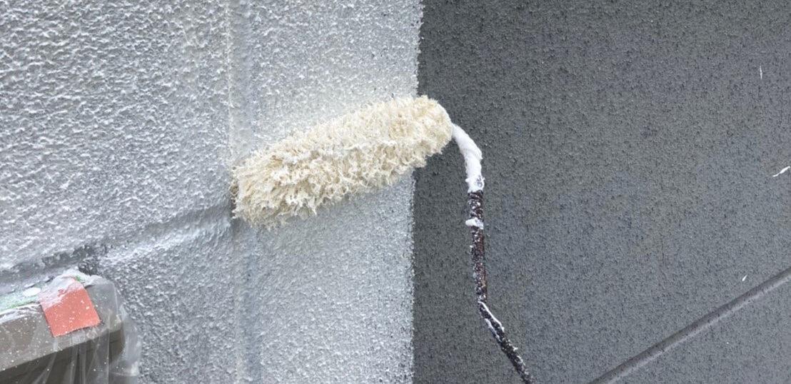三養基郡 外壁塗装(下塗り)