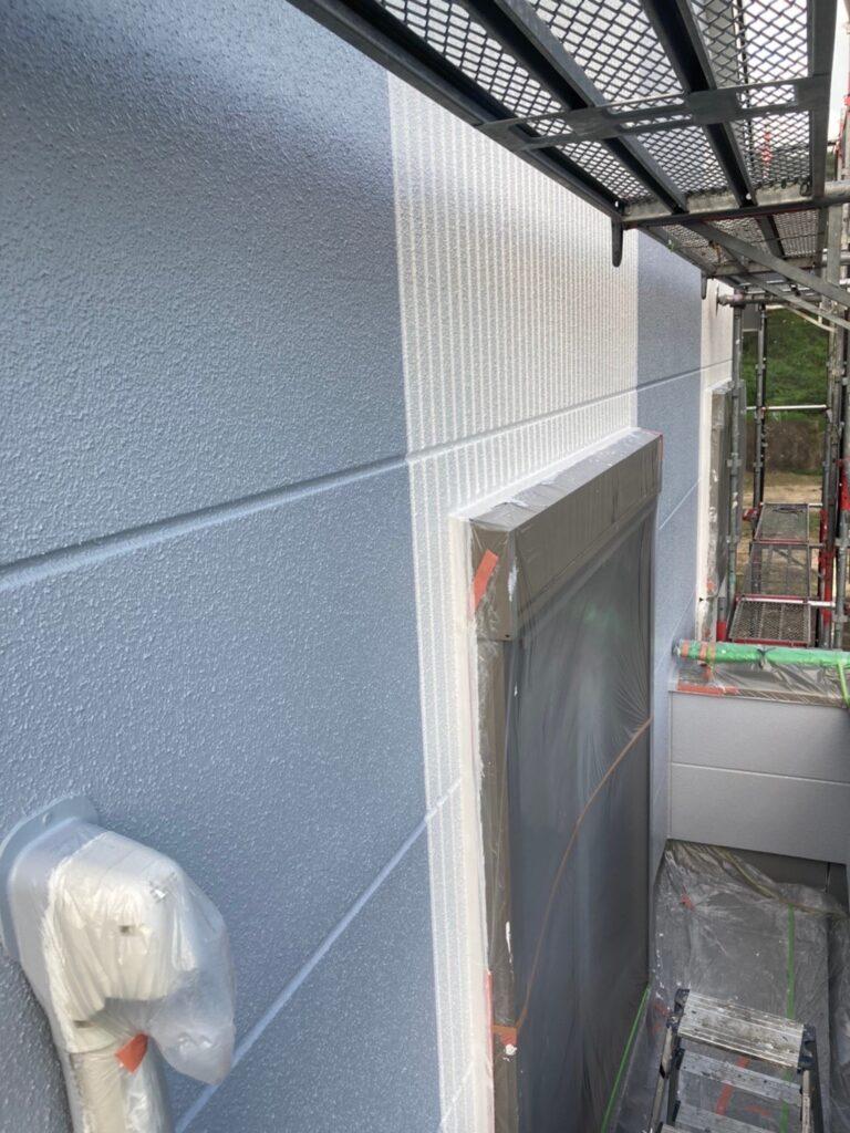 三養基郡 外壁塗装(上塗り) 写真11