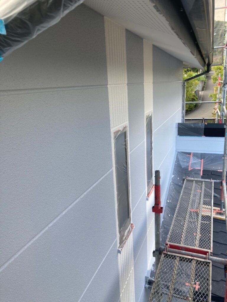 三養基郡 外壁塗装(上塗り) 写真12