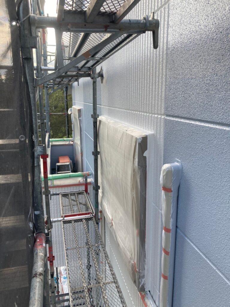 三養基郡 外壁塗装(上塗り) 写真13