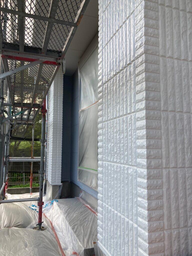三養基郡 外壁塗装(上塗り) 写真15