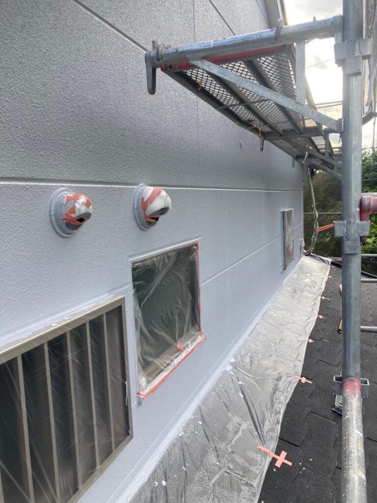 三養基郡 外壁塗装(上塗り) 写真9